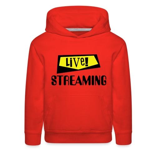 Live Streaming - Kids' Premium Hoodie