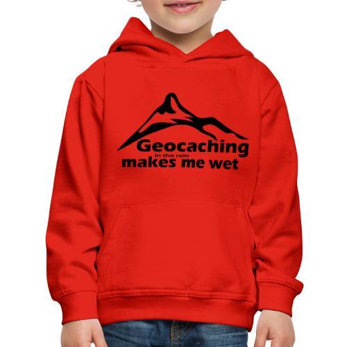 Wet Geocaching - Kids' Premium Hoodie