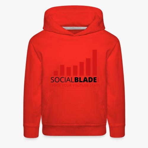 Traditional Logo Tagline - Kids' Premium Hoodie