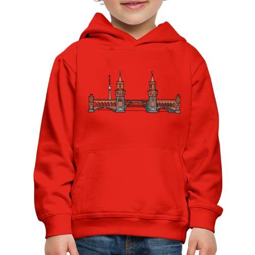 Oberbaum Bridge Berlin - Kids' Premium Hoodie