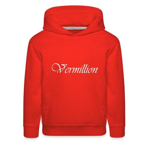 Vermillion T - Kids' Premium Hoodie