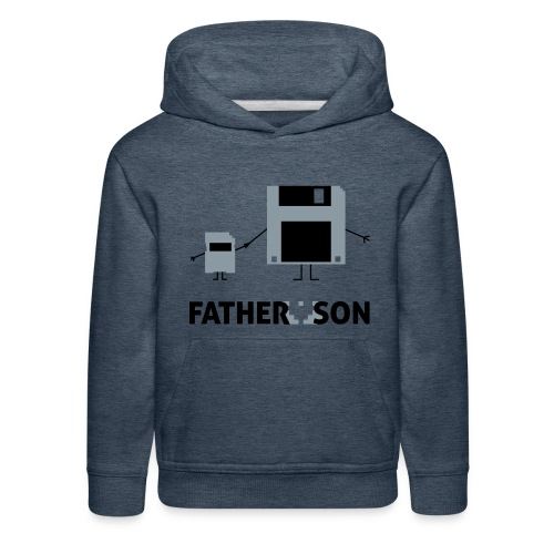 Father and Son - Kids' Premium Hoodie