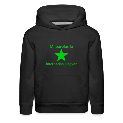 I speak the international language - Kids' Premium Hoodie