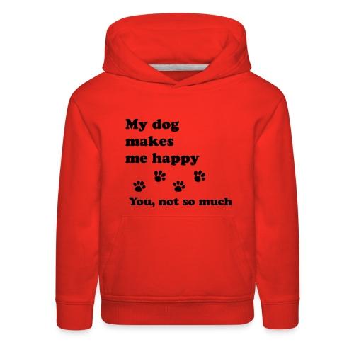love dog 2 - Kids' Premium Hoodie