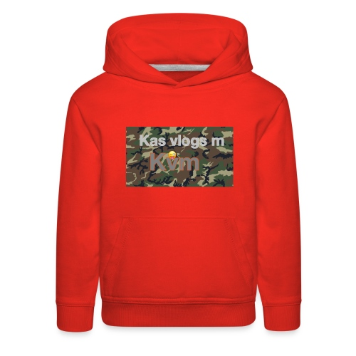Camo jumper - Kids' Premium Hoodie