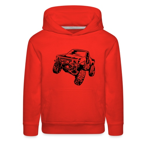 Truck Crawler - Kids' Premium Hoodie