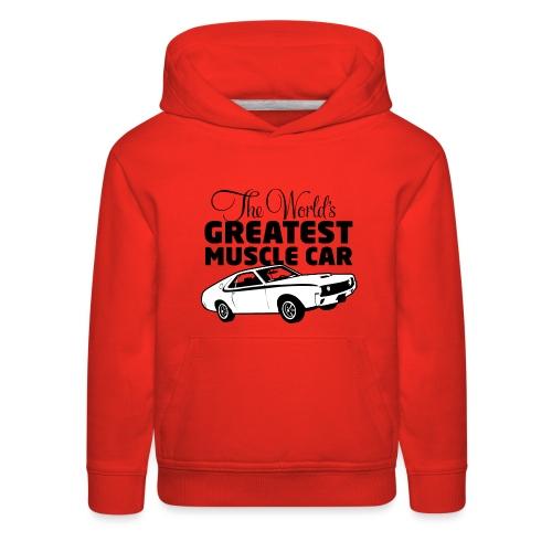 Greatest Muscle Car - Javelin - Kids' Premium Hoodie