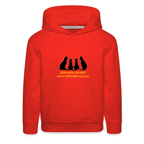 TNR JOIN OUR COLONY - Kids' Premium Hoodie
