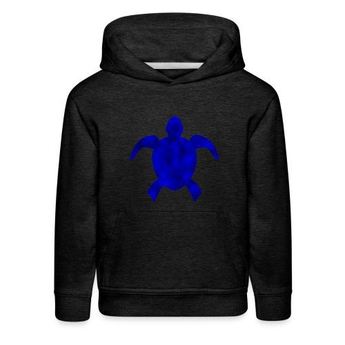 Sea turtle blue - Kids' Premium Hoodie
