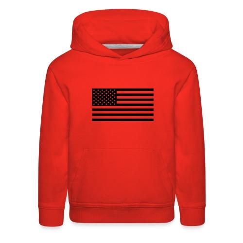 American Flag - Kids' Premium Hoodie