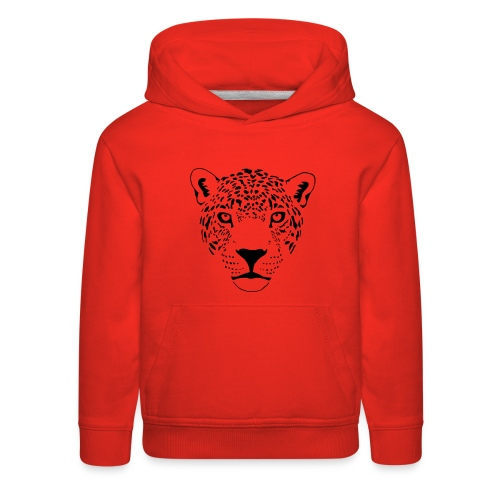 jaguar cougar cat puma panther leopard cheetah - Kids' Premium Hoodie