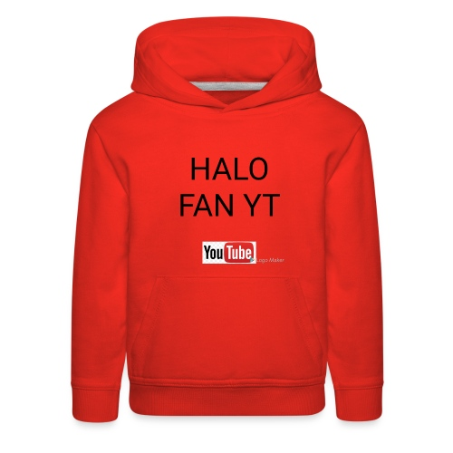 Halo fan and fnaf YouTube channel merch - Kids' Premium Hoodie