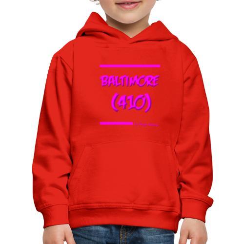 BALTIMORE 410 PINK - Kids' Premium Hoodie