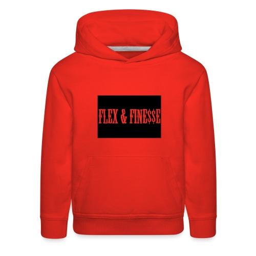 Flex & Fine$$e - Kids' Premium Hoodie