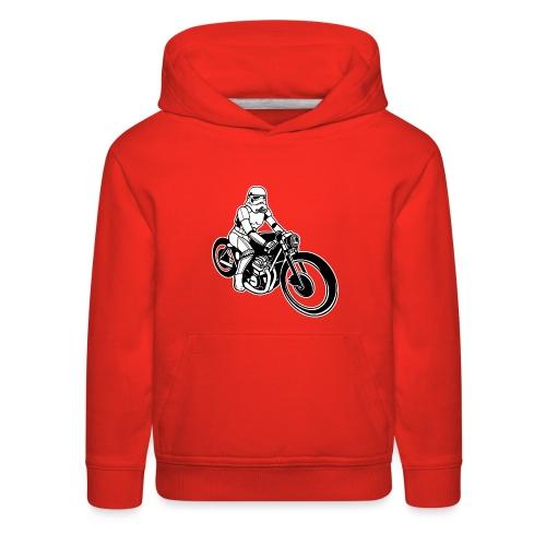 Stormtrooper Motorcycle - Kids' Premium Hoodie