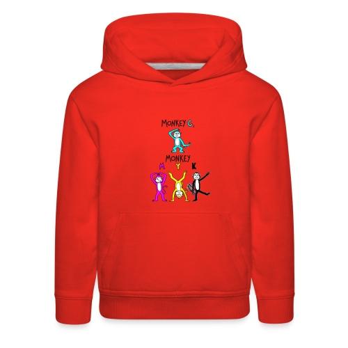 monkey see myk - Kids' Premium Hoodie