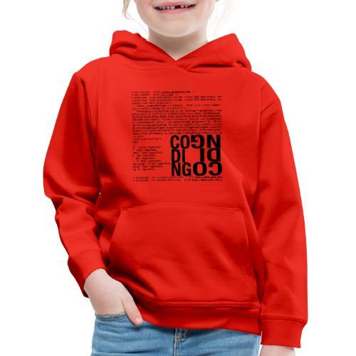 Coding - Kids' Premium Hoodie