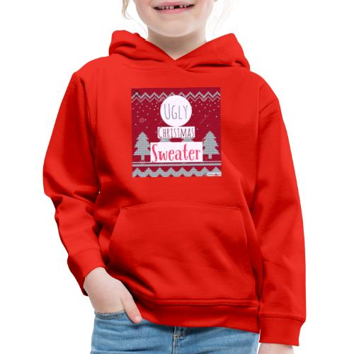 Ugly Christmas Sweater - Kids' Premium Hoodie