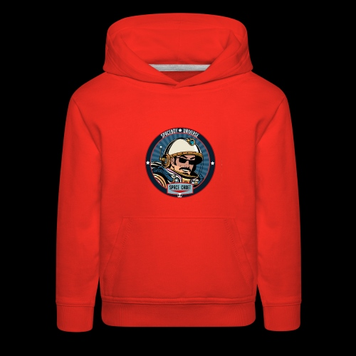 Spaceboy - Space Cadet Badge - Kids' Premium Hoodie