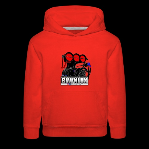BLWNLUX (Engine) - Kids' Premium Hoodie