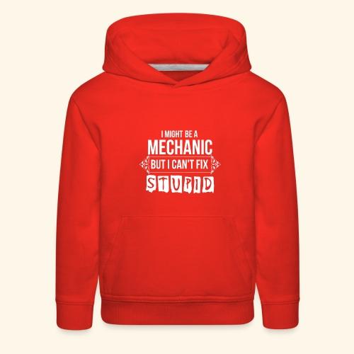 Auto Mechanic T Shirts For Men, Women,Kids,Babies - Kids' Premium Hoodie