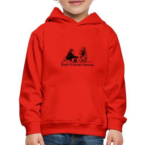 Best Friend Forever (boy) - Kids' Premium Hoodie