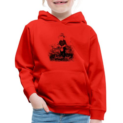 Fresh Air - Kids' Premium Hoodie