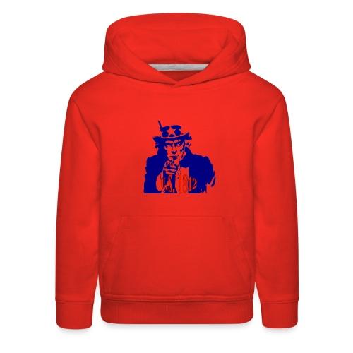 uncle-sam-1812 - Kids' Premium Hoodie