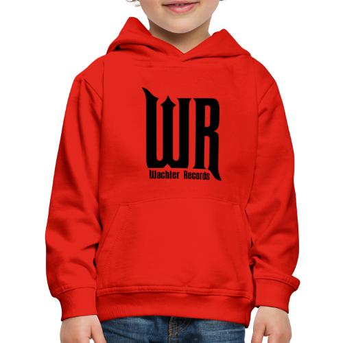 Wachler Records Dark Logo - Kids' Premium Hoodie