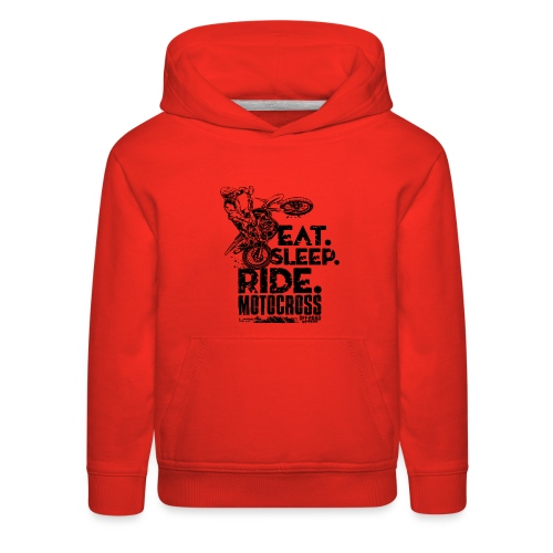 Motocross Eat Sleep Ride - Kids' Premium Hoodie