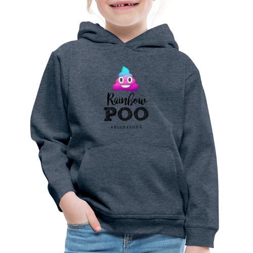 Rainbow Poo - Kids' Premium Hoodie
