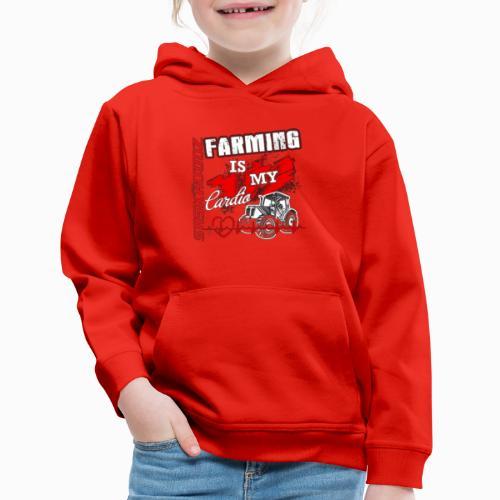 saskhoodz farming - Kids' Premium Hoodie
