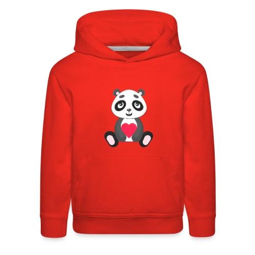 Sweetheart Panda - Kids' Premium Hoodie
