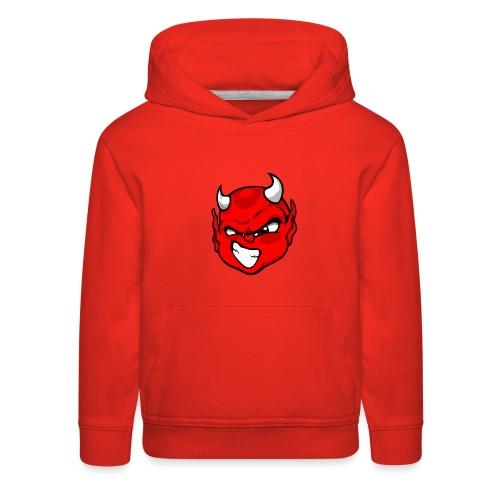 Rebelleart devil - Kids' Premium Hoodie
