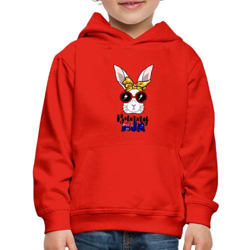 Aussie Bun Mum - Kids' Premium Hoodie