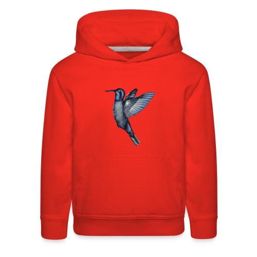 Hummingbird in flight - Kids' Premium Hoodie