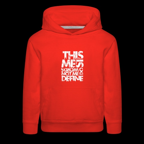 Words Do Not Define Me - Kids' Premium Hoodie