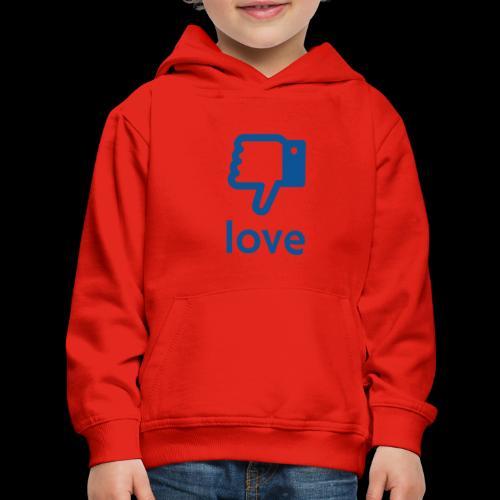 Un-LIKE Love - Kids' Premium Hoodie