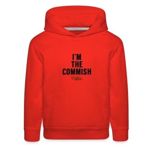 I'm the Commish: Coffee Mug - Kids' Premium Hoodie