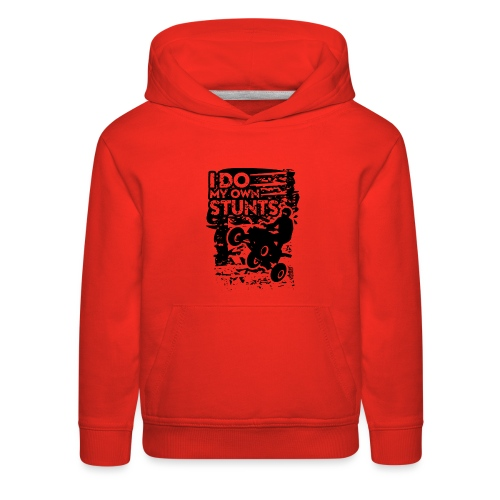 ATV Quad My Own Stunts - Kids' Premium Hoodie
