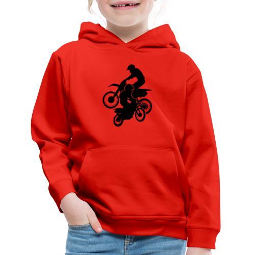 Motocross Dirt Bikes Off-road Motorcycle Racing - Kids' Premium Hoodie