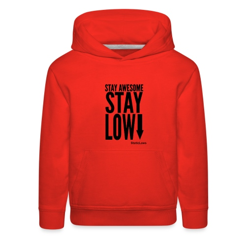 Stay Awesome - Kids' Premium Hoodie