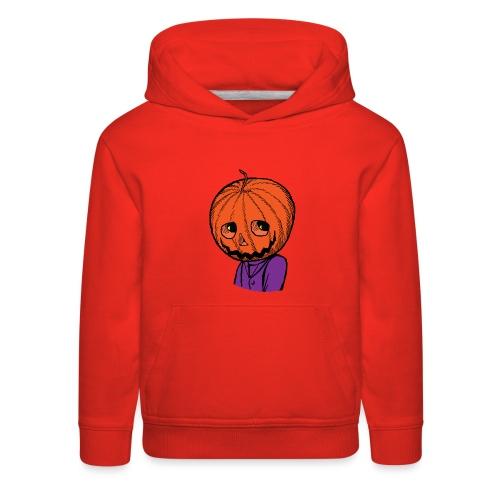 Pumpkin Head Halloween - Kids' Premium Hoodie