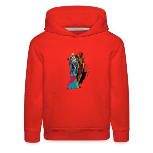 anjelicaPRO png - Kids' Premium Hoodie