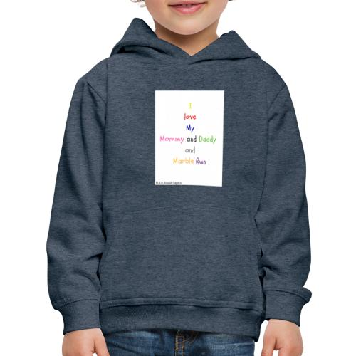 Hi I'm Ronald Seegers Collection-What I love - Kids' Premium Hoodie