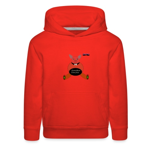 Girls ChocoBear Flare Shirt - Kids' Premium Hoodie
