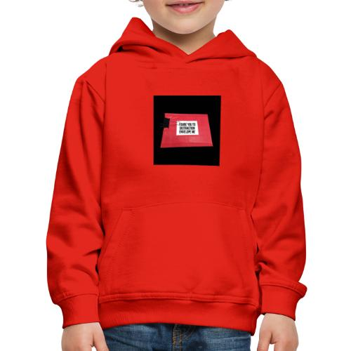 Distraction Envelope - Kids' Premium Hoodie
