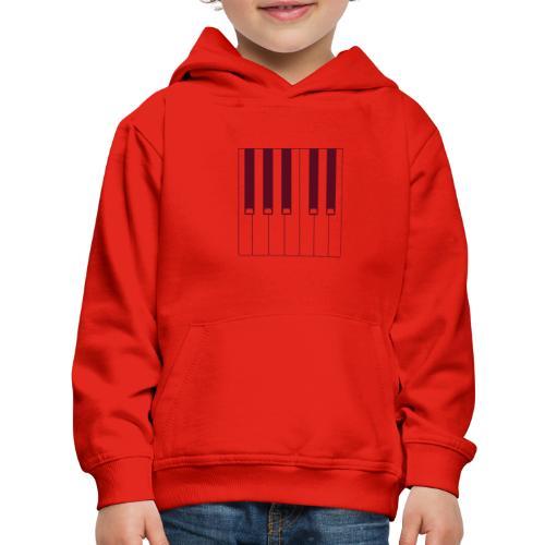 Piano - Kids' Premium Hoodie