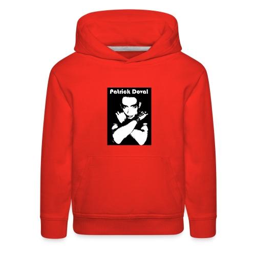 Patrick Doval Logo - Kids' Premium Hoodie