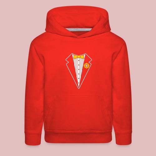 Keep It Classy Tux Shirt - Kids' Premium Hoodie